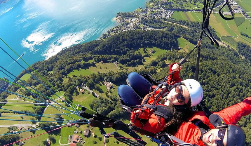 Paragliding 'Top Flight' - Outdoyo